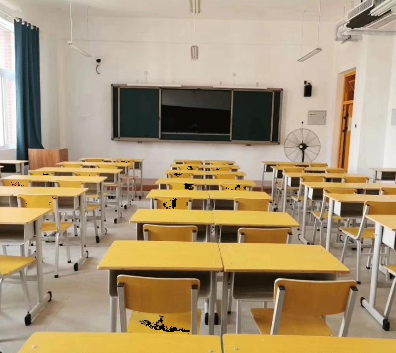 湖南某第二小学55寸智能教学一体机安装完毕